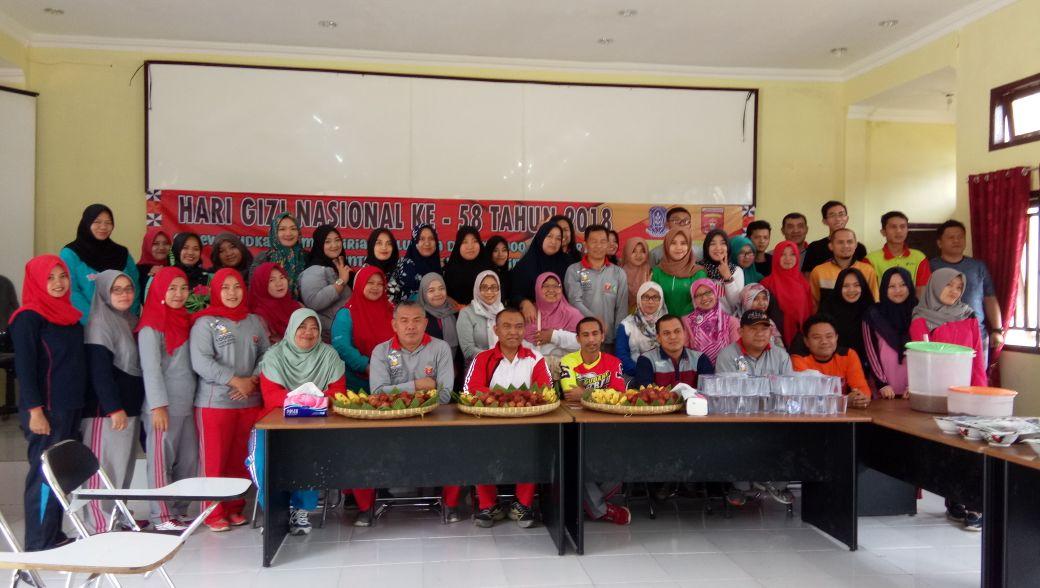 Peringatan Hari Gizi Nasional Ke-58 Kabupaten Lampung Barat.